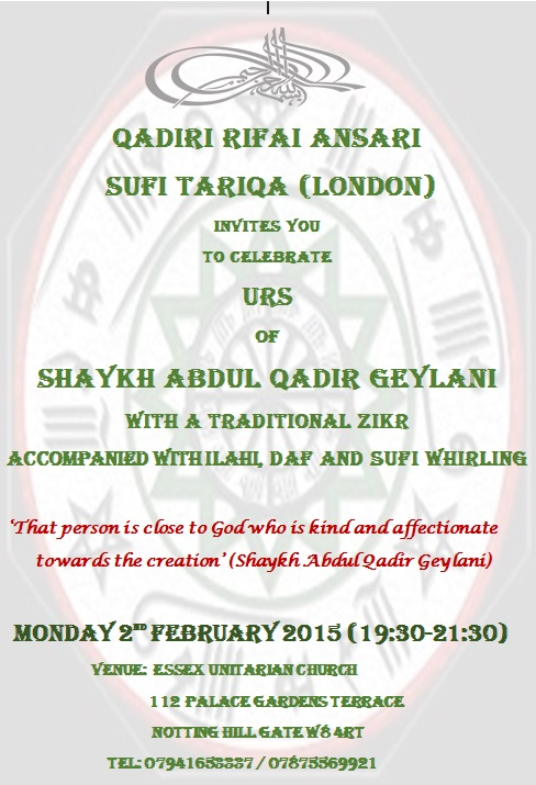 Urs of Shaykh Abdul Qadir