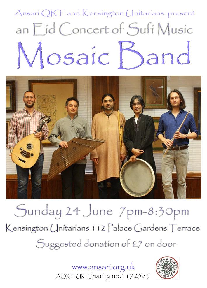 Eid Concert flyer